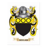 Hogan Coat of Arms (Family Crest) Postcard