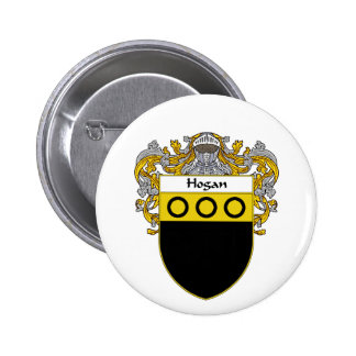 Hogan Coat of Arms (Mantled) Button
