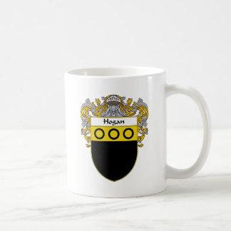 Hogan Coat of Arms (Mantled) Classic White Coffee Mug