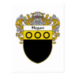 Hogan Coat of Arms (Mantled) Postcard