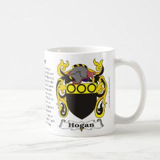 Hogan Family Coat of Arms Mug