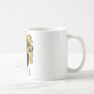 HOGAN FAMILY CREST -  HOGAN COAT OF ARMS CLASSIC WHITE COFFEE MUG