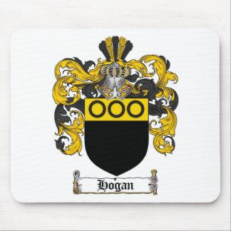 HOGAN FAMILY CREST -  HOGAN COAT OF ARMS MOUSE PAD