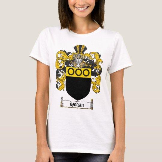 HOGAN FAMILY CREST -  HOGAN COAT OF ARMS T-Shirt