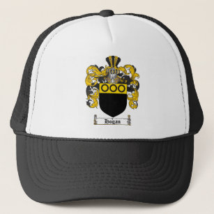 3fa50b86164 HOGAN FAMILY CREST - HOGAN COAT OF ARMS TRUCKER HAT
