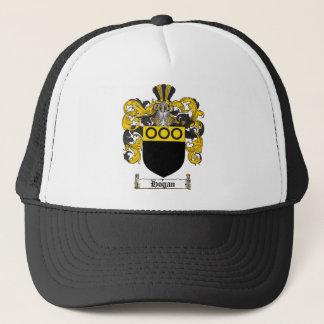 HOGAN FAMILY CREST -  HOGAN COAT OF ARMS TRUCKER HAT