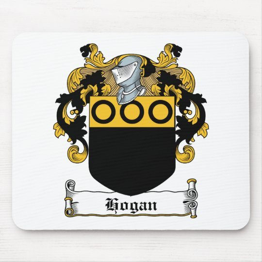 Hogan Family Crest Mouse Pad