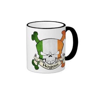 Hogan Irish Skull Ringer Mug