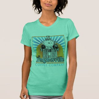 Hogansville Coffee Ladies Cotton Tank Train Logo