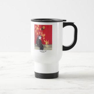 Hogar agradable taza