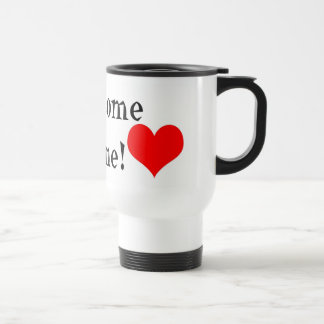 Hogar agradable taza de café