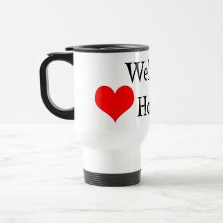 Hogar agradable taza térmica