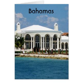 Hogar bahamés tarjeton