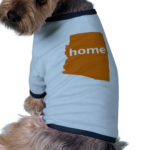 Hogar de Arizona Camisetas De Mascota