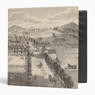 "Hogar de Benjamin R Greeno en Rutland Carpeta 1 1/2"""