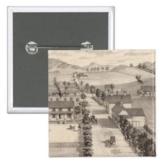 Hogar de Benjamin R Greeno en Rutland Pin Cuadrada 5 Cm