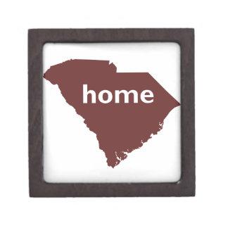 Hogar de Carolina del Sur Caja De Regalo De Calidad
