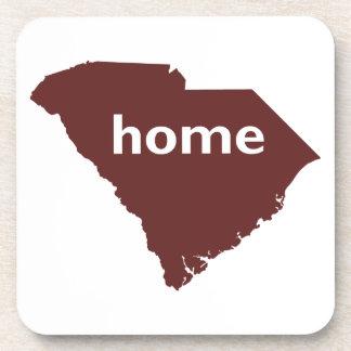 Hogar de Carolina del Sur Posavasos De Bebida