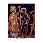 Hogar de Erasmus del St. de Mathis Grunewald Gotha Tarjetas Postales
