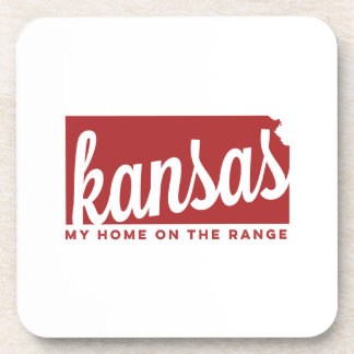 hogar de Kansas el | en el carmesí de la gama el | Posavaso