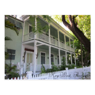 Hogar de Key West la Florida Tarjetas Postales