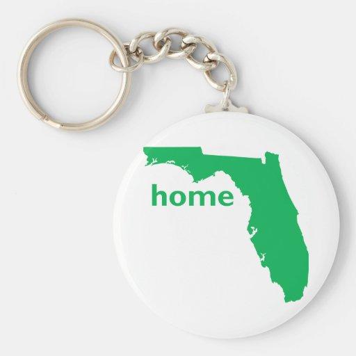 Hogar de la Florida Llavero