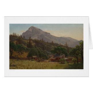 Hogar de la montaña (1083) tarjeton