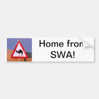 Hogar de la SWA Pegatina Para Auto