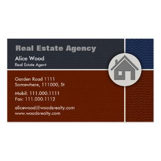 Hogar de las propiedades inmobiliarias el | tarjetas de visita