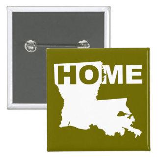 Hogar de Luisiana lejos del Pin de la insignia del