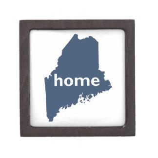 Hogar de Maine Caja De Joyas De Calidad