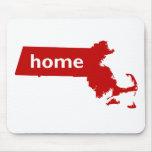 Hogar de Massachusetts Tapete De Raton