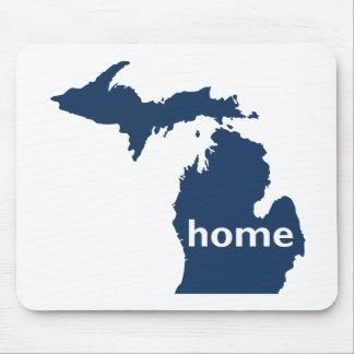Hogar de Michigan Alfombrillas De Ratón