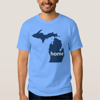 Hogar de Michigan Playera