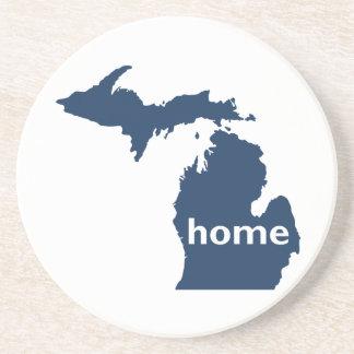 Hogar de Michigan Posavasos Diseño