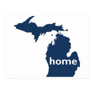 Hogar de Michigan Tarjetas Postales