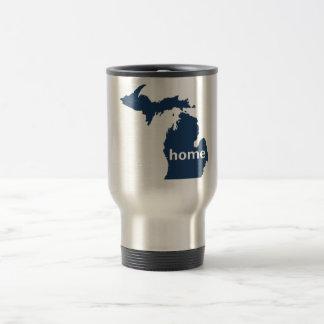 Hogar de Michigan Taza De Viaje