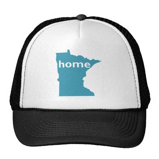 Hogar de Minnesota Gorros Bordados