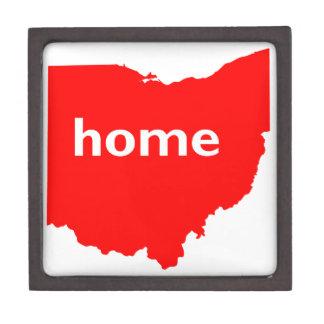 Hogar de Ohio Caja De Recuerdo De Calidad