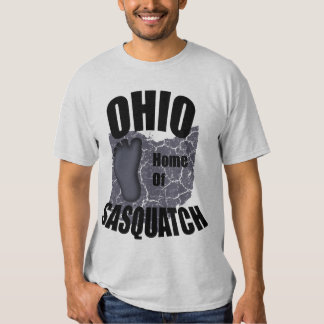 Hogar de Ohio de la SasquatchT-camisa Camisas
