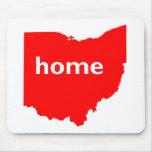 Hogar de Ohio Tapete De Ratón
