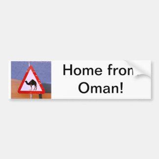 Hogar de Omán Pegatina Para Auto