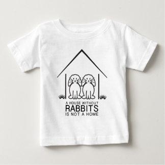 Hogar de orejas ca3idas del conejo playeras