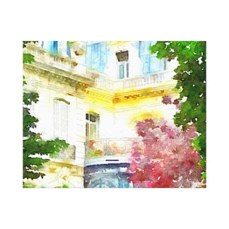 Hogar de París Lona Estirada Galerias