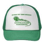 Hogar de Rhinelander Wisconsin del casquillo del g Gorras