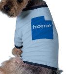 Hogar de Utah Camisetas De Perro
