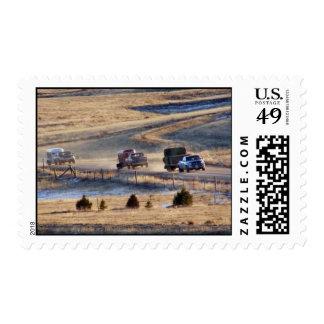 Hogar del convoy del país sello
