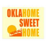 Hogar del dulce de Oklahome Postales