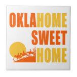 Hogar del dulce de Oklahome Tejas Ceramicas