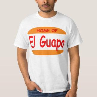 Hogar del EL Guapo Playeras